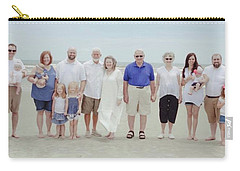 Smith Family At The Beach Carry-all Pouch