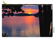 Smith Mountain Lake Sunset Carry-all Pouch
