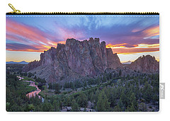 Carry-all Pouch featuring the photograph Smith On Fire by Patricia Davidson