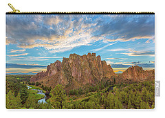 Smith Rock Carry-all Pouch by Patricia Davidson