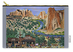 Smith Rock State Park Carry-all Pouch