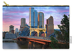 Smithfield Street Bridge Carry-all Pouch by Emmanuel Panagiotakis