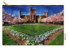 Spring Blooms In The Smithsonian Castle Garden Carry-all Pouch
