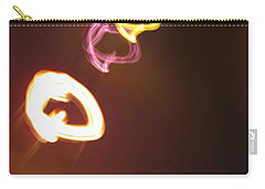 Carry-all Pouch featuring the photograph Smoke In Colors by Ausra Huntington nee Paulauskaite