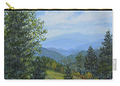 Smokey Mountain Overlook Carry-all Pouch