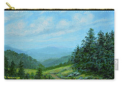 Smokey Mountains Calling Me Carry-all Pouch by Kathleen McDermott