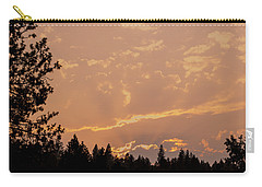 Smokey Skies Sunset Carry-all Pouch