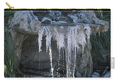 Smokey Stoves Frozen Falls Carry-all Pouch by Marie Neder