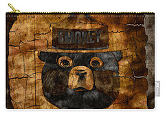 Smokey The Bear Only You Can Prevent Wild Fires Carry-all Pouch