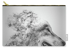 Smokey Wolf Carry-all Pouch