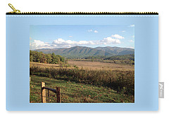 Smokies 1 Carry-all Pouch by Val Oconnor