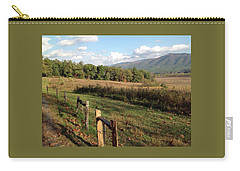 Smokies 2 Carry-all Pouch by Val Oconnor