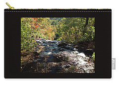 Smokies 5 Carry-all Pouch by Val Oconnor