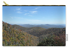 Smokies 6 Carry-all Pouch by Val Oconnor