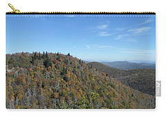 Smokies 7 Carry-all Pouch by Val Oconnor