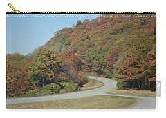 Smokies 9 Carry-all Pouch by Val Oconnor