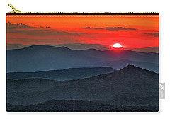 Smokies Sunset Carry-all Pouch