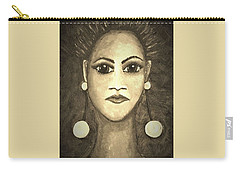 Smoking Woman 1 Carry-all Pouch