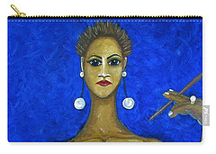 Smoking Woman 2 Carry-all Pouch