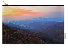 Dawn From Standing Indian Mountain Carry-all Pouch