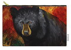 Smoky Mountain Black Bear  Carry-all Pouch