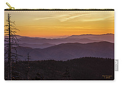 Smoky Mountain Morning Carry-all Pouch