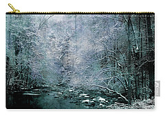 Smoky Mountain Winter Carry-all Pouch by Mike Eingle