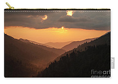 Smoky Mountains Sunset - D010157 Carry-all Pouch