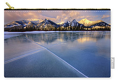 Smooth Ice Carry-all Pouch by Dan Jurak