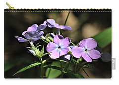 Carry-all Pouch featuring the photograph Smooth Phlox Wildflowers by Sheila Brown