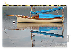 Carry-all Pouch featuring the photograph Smooth Sailing by Werner Padarin