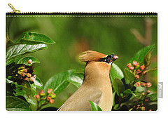Carry-all Pouch featuring the photograph Snacking by Betty-Anne McDonald