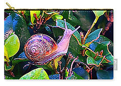 Snail 5 Carry-all Pouch