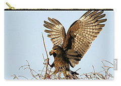Snail Kite Coming In Carry-all Pouch