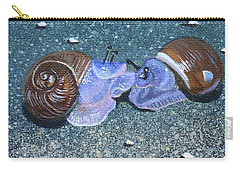 Snail Kisses Carry-all Pouch