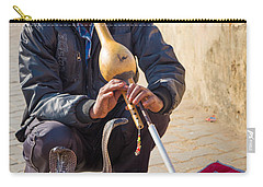 Snake Charmer Carry-all Pouch by Inge Johnsson