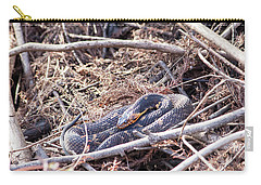 Carry-all Pouch featuring the photograph Snake by Ester Rogers
