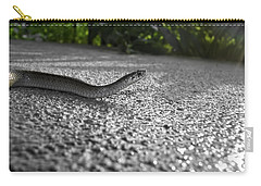 Snake In The Sun Carry-all Pouch