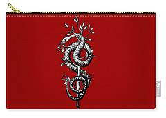 Snake Of Wisdom Carry-all Pouch