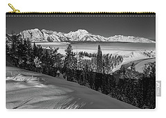 Snake River Overlook-winter Scene 79 Carry-all Pouch