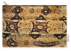 Carry-all Pouch featuring the photograph Snake Skin II by Kathy Baccari