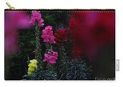 Snapdragon Carry-all Pouch by Greg Patzer