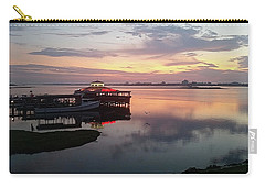 Sneaky Petes At Dawn Carry-all Pouch by Robert Banach