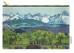 Sneffels Range Spring Carry-all Pouch by Dan Miller