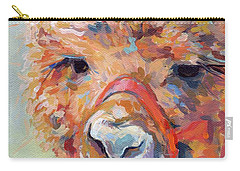 Snickers Carry-all Pouch by Kimberly Santini
