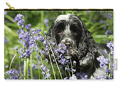 Sniffing Bluebells Carry-all Pouch