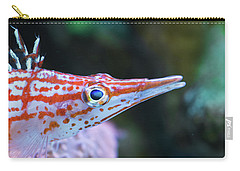 Snooty The Hawkfish Carry-all Pouch