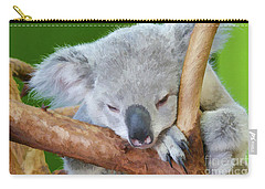 Snoozing Koala Bear Carry-all Pouch