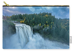 Snoqualmie Falls Rush Hour Carry-all Pouch