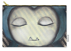 Snorlax Carry-all Pouch by Abril Andrade Griffith